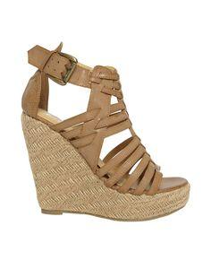 Bardot Espridille Wedges......I want these...christmas???