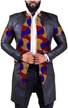 SleekHides Mens Electric Black Real Leather Jacket