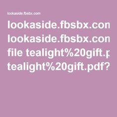 lookaside.fbsbx.com file tealight%20gift.pdf?token=AWzzWsaYkfn1EOSEtIWLwjLDspvzhqgV0-poF2Z_Dl3XCs-hHPh7xI-pOBfmmm8afIj9urqd-e1x3LjwFS4qb_dQZ5uB2rjSVA-16Cm5LeZ14gbGQskIxW3Mt4SCOpaSPWzcuBTYSG_1OeTpPBCM8JvO Pen Pal Tracker, Token, Primary Music, Bible Pdf, Stephen Thompson, Cookbook Pdf, Bar Menu, Facebook, Singing Time