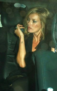Celebrity Tattoos - Kate Moss