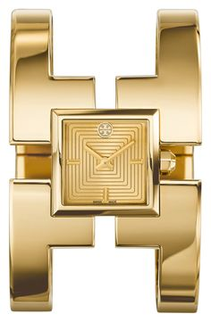Vintage chic gold watch from Tory Burch, yes please!