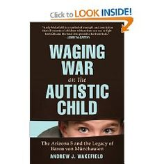 Andrew Wakefield's new book