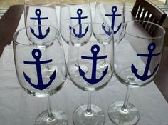 anchor wine glasses