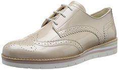 Gabor Shoes 42.558 Damen Derby Schnürhalbschuhe ,Beige (94 puder (S.weiss)) ,38.5 EU - http://on-line-kaufen.de/gabor/38-5-eu-gabor-damen-derby-3
