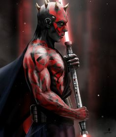 Darth Maul, by Andy Fairhurst. The only good thing to come out of the prequels. I'm ignoring his new backstory from the Clone Wars cartoon.