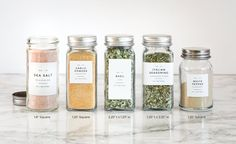 Modern Spice Labels Personalization Available Durable | Etsy Spice Labels, Pantry Labels, Spice Jars, Kitchen Labels, Canning Lids, Mason Jar Lids, Personalized Labels, Custom Labels, Garam Masala