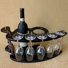 holder wire on sale at reasonable prices, buy Wooden Wine Rack Bar Wine Holder from mobile site on Aliexpress Now! Wine Rack Bar, Wood Wine Racks, Wine Glass Holder, Wine Bottle Holders, Cheap Wine Racks, Wine Wallpaper, Modern Home Bar, Wine Caddy, Wine Racks