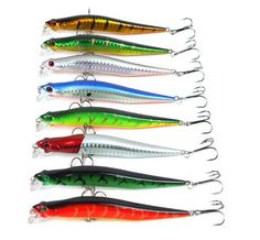 Minnow Fishing Lure 12cm 10g Fishing Tackle 3D Artificial Bait Hard Floating Big Fishing Lures Bait Tackle Online with $45.47/Piece on Baibuju's Store | DHgate.com