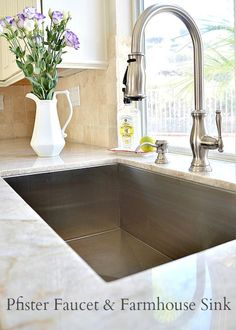115 best Kitchen Faucets images on Pinterest | Best kitchen faucets ...