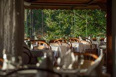 Varanda do Restaurante Zermatt no Hotel Rosa dos Ventos