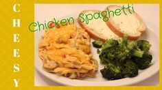 Chicken Spaghetti Recipes, Chicken Meals, Chicken Recipes, At Home With Nikki, Delicious Recipes, Yummy Food, Casseroles, Meal Planning, Picnic