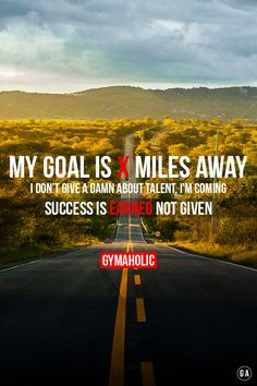gymaaholic:  Success is earned not given. http://www.gymaholic.co