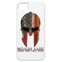 Molon Labe - Come and Take Them USA Spartan iPhone 5 Covers