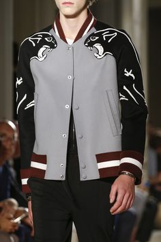 See detail photos for Valentino Spring 2017 Menswear collection.