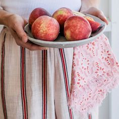 Fez Guava cotton napkins (set of 4) | Hand-printed linen cushions, wallpaper and homewares Cotton Napkins, Napkins Set, Printed Linen, Moorish, Mosaic, Delicate, Peach, Cushions