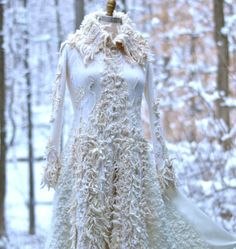 Custom Wedding sweater COAT for MC. Winter by amberstudios on Etsy
