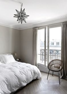 my scandinavian home: A Parisien apartment with beautiful bones