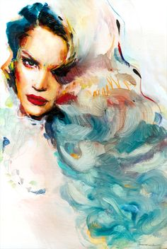 """✿ """"Ocean"""" ✿ Charmaine Olivia ✿ limited edition is now available. 50 prints only! xo http://CharmaineOliviaShop.com"""