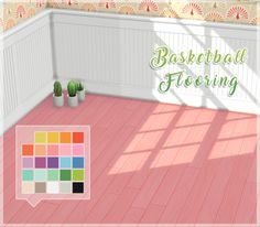 Basketball Flooring RecolorItem Details:  • Standalone recolor.  • Recolored in @eversims palette.  • Requires City Living  D O W N L O A D H E R E