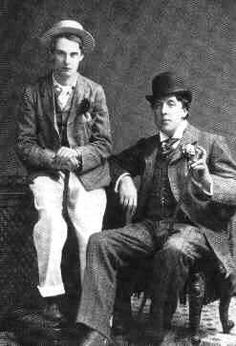 Oscar Wilde with Lord Alfred Douglas ('Bosie').