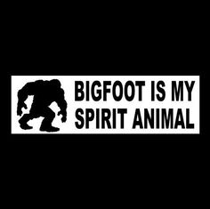 Bigfoot Field Research Team Bumper Sticker