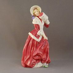 Christmas Morn   Royal Doulton Figurine