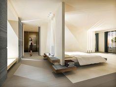 Suite at La Reserve Ramatuelle near Saint Tropez by French architect Wilmotte _