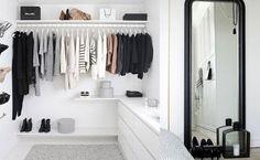 clothes area