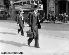 Fashion - Menswear - Business Suits - London - 1950
