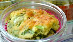 Mara maakt Hüttenkäse-spinazie muffins
