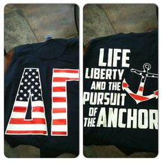 Life, Liberty, and the Pursuit of the Anchor!!