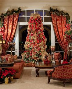 If this were my living room I wouldn't go anywhere else during December..!!