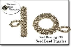 Photos on website of classes to make lots of different types of toggles. Seed Bead Toggle