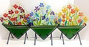 Flower Basket with stand by Anne Nye