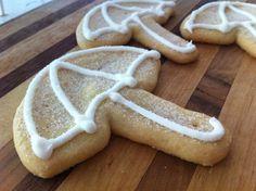 Umbrella Sugar Cookies April Showers Charlotte's Sweets
