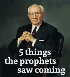 """Members of The Church of Jesus Christ of Latter-day Saints sustain their leaders as """"prophets, seers and revelators."""" Does that mean these men in the First Presidency and Quorum of 12 Apostles foretell future events? In recent years these modern-day prophets have clearly been""""forthtelling,"""" which involves teaching doctrine, witnessing of the Savior and warning against …"""