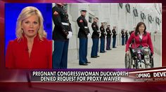 House Dems: Pregnant, Amputee Congresswoman Duckworth Cannot Vote From Home   Fox News Insider