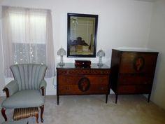Bedroom set for sale by Crown City Antiques and Estate Sales near La Crescenta, Montrose, La Canada, Pasadena and Glendale
