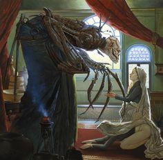 /tg/ - Running a dark fantasy game soon in the vein of * - Traditional Games - Dark Fantasy Art, Dark Art, Arte Sci Fi, Sci Fi Art, Arte Horror, Horror Art, Image Triste, Art Sinistre, Art Science Fiction