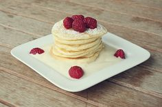 Buttermilch-Pancakes | A Cake A Day | Mein Foodblog