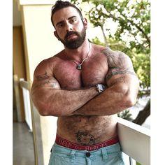 Instagram media by xaviermuscle - Shot with @vipersportsphotography today here in #BocaRaton #Florida #hairymuscle #bodybuilder #bodybuilding #bearmuscle #bear #beardsrule #beardedmen #alphamalehub #adonislounge #fL #inkedmuscle
