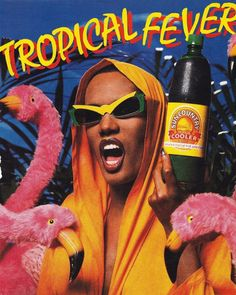 Grace Jones  Tropical Fever. 1987 Sun Country Tropical...