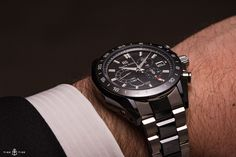 We examine the incredibly well-made, if somewhat menacing Grand Seiko Black Ceramic Spring Drive Chronograph GMT.