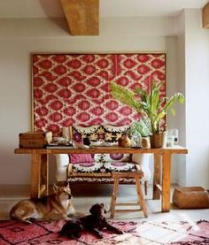 Love these easy framed fabric ideas. Doable inspiration on a budget. #diy
