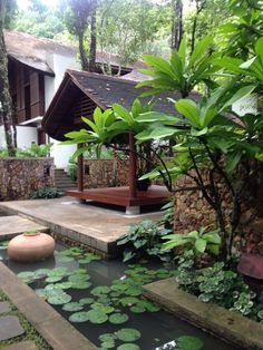 100 Fun Backyard Landscaping Idea How About An Exotic, Tropical Backyard Resort 40 Tropical Backyard, Tropical Landscaping, Tropical Houses, Backyard Landscaping, Fun Backyard, Landscaping Ideas, Balinese Garden, Landscape Design Plans, Planer