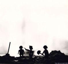 Executie - A studie gemaakt in 1995. Gescanned van de originele bariet afdruk.  - 2014 - Unsorted images - Foto door Mark van Laere