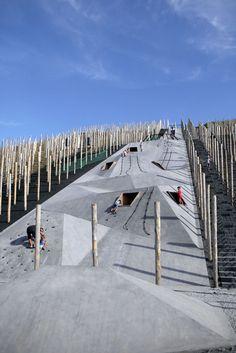Play Landscape be-MINE, Beringen (BE) by Carve and OMGEVING « Landscape Architecture Works | Landezine
