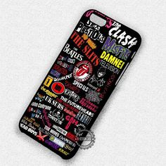 Punks XX Bands - iPhone 7 6 5 SE Cases & Covers