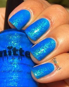 Smitten Polish Aqua Opal