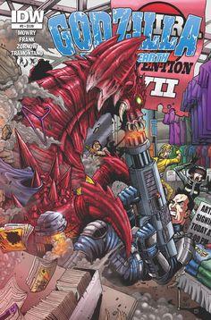 Godzilla Comic Book 18